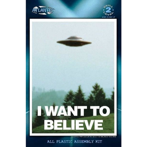"AMC 5"" I Want to Believe Photo 494 UFO Billy Meier w/L"