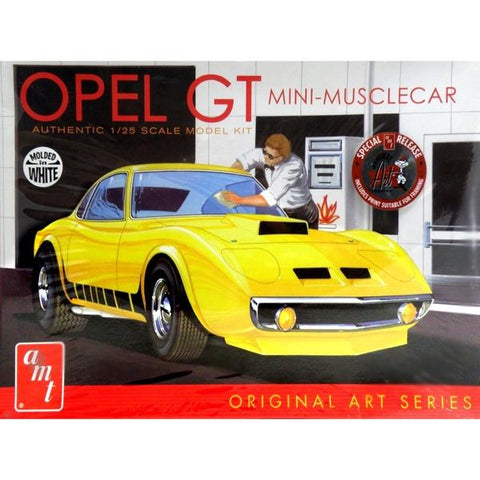 AMT 1:25 Opel GT Mini Muscle Car Original Art Series