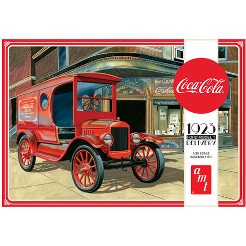 AMT 1/25 Coca Cola 1923 Ford Model T Delivery Plastic Kit