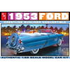 1:25 1953 Ford Convertible Plastic Kit