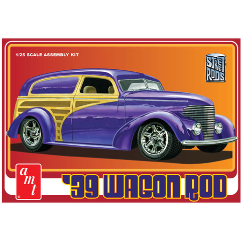 AMT 1:25 1939 Wagon Rod Plastic Kit