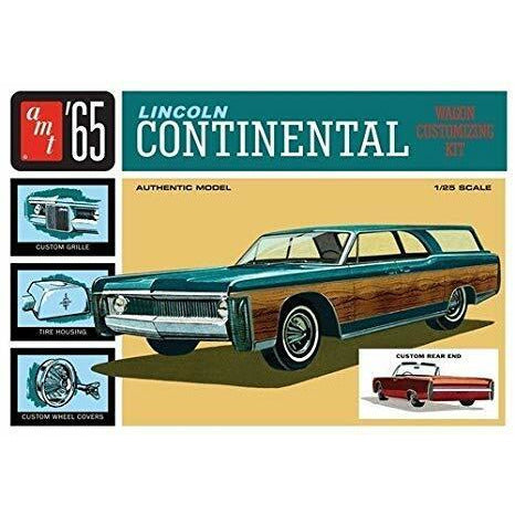 1:25 1965 Lincoln Continental Plastic Kit