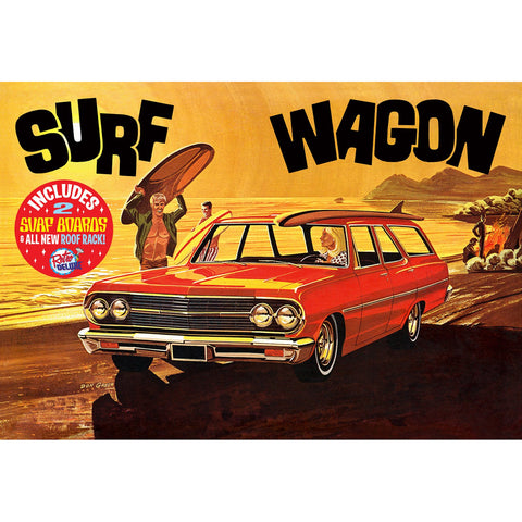 AMT 1:25 1965 Chevelle Surf Wagon Plastic Kit