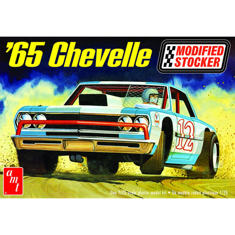 AMT 1/25 1965 Chevelle Modified Stocker Drag Plastic Kit