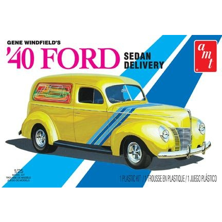 1:25 1940 Ford Sedan Delivery Gene Winfield's Plastic Kit