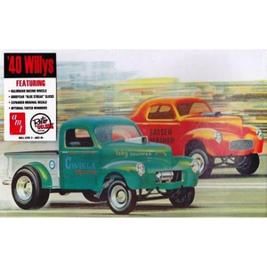 AMT 40WILLYS COUPE/PICKUP 1/25