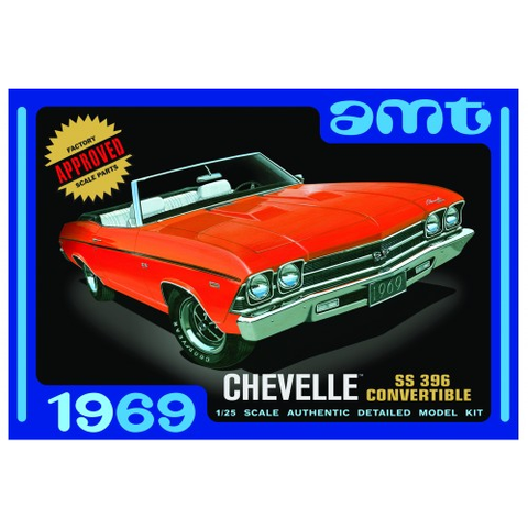 AMT 1/25 1969 CHEVELLE CONVERTIBLE