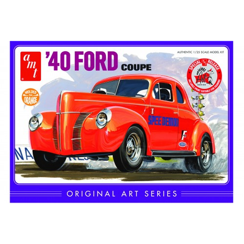 AMT 1/25 '40 Ford Coupe Orange