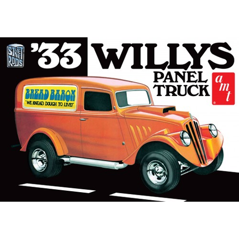 AMT 1/25 1933 Willys Panel Plastic Kit