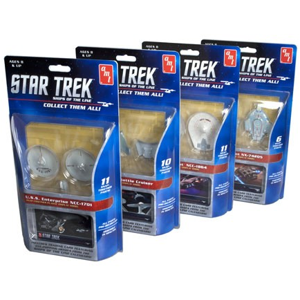 AMT 914 1/2500 Star Trek - Ships of the Line Assortment (Sh