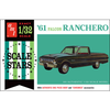 AMT 1/32 1961 Ford Ranchero Plastic Kit