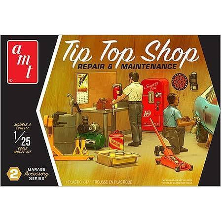 AMT 1:25 Garage Accessory Set No2 2T