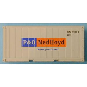 AUST-N-RAIL 20ft Refrigerated P&O NedLlyod(2) (ANR-30031)