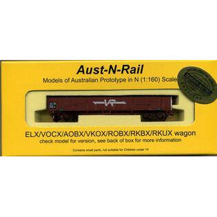 AUST-N-RAIL ELX VR lettering No 259, includes Microtrains b