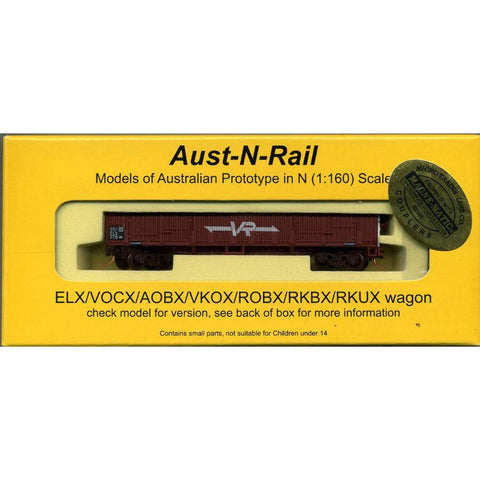 AUST-N-RAIL ELX VR lettering No 379, includes Microtrains b