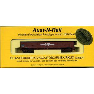 AUST-N-RAIL VOCX (ELX) VR lettering no 246, includes Microt