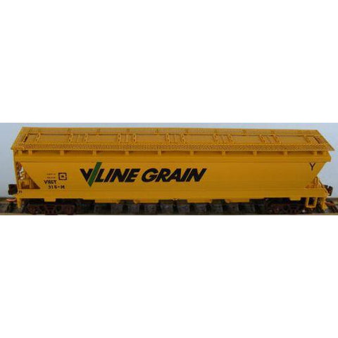 AUST-N-RAIL N - VHGY VLINE No 316 includes Microtrains Bogi