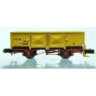 AUST-N-RAIL N - VR GY Yellow Number 17006 Rapido couplers (