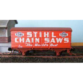 AUST-N-RAIL VR U Van Stihl with Microtrains couplers (ANR