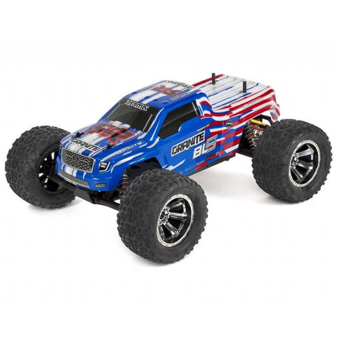 ARRMA GRANITE BLS (BLUE) MONSTER TRUCK WITH BATTERY & CHARGER