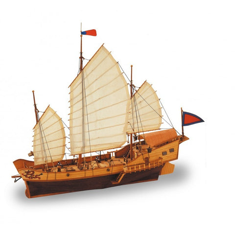 ARTESANIA 1/60Red Dragon Junk Wooden Ship Model (ART-18020)