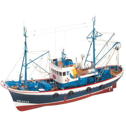 ARTESANIA 1/50 Marina II Fishing Boat Wooden Ship Model (AR