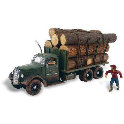 Image of WOODLAND SCENICS HO Scale Tim Burr Logging