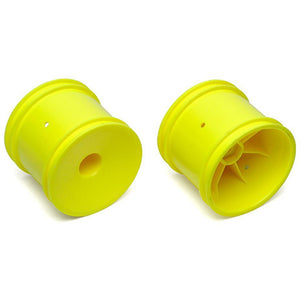 ASSOCIATED 2WD Truck Wheels, 2.2 in, 12 mm Hex yellow for ,