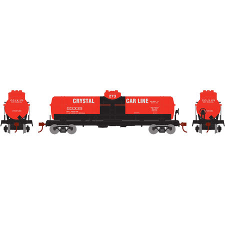 Image of ATHEARN HO RTR 1-Dome Tank, Crystal/Red