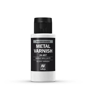 Vallejo Gloss Metal Varnish 60ml