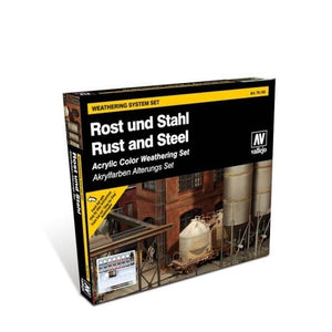 Vallejo Model Colour Rust and Steel Box Set