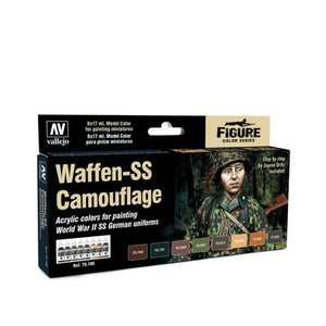 Vallejo Model Colour Waffen-SS Camouflage Set Box Set
