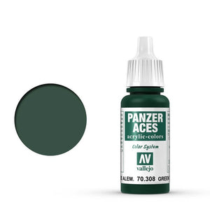 Vallejo Panzer Aces Green Tail Light 17 ml