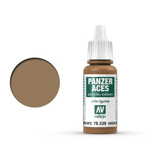 Vallejo Panzer Aces Feldgrau II Highlights 17 ml
