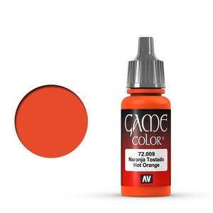 Vallejo Game Colour Hot Orange 17 ml