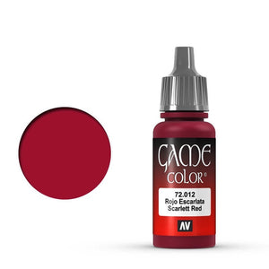Vallejo Game Colour Scar Red 17 ml
