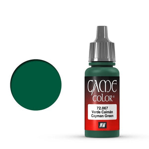 Vallejo Game Colour Cayman Green 17 ml