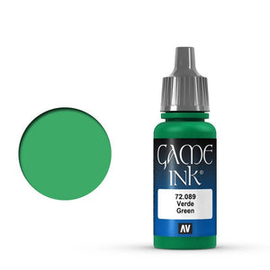 Vallejo Game Colour Ink Green 17 ml