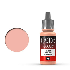 Vallejo Game Colour Rosy Flesh 17 ml