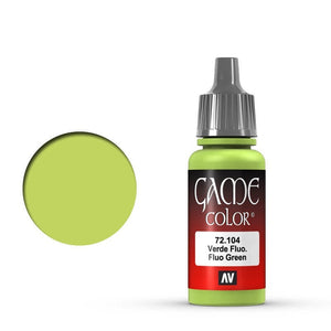 Vallejo Game Colour Fluo Green 17 ml