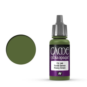 Vallejo Game Colour Extra Opaque Heavy Green 17 ml