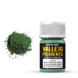 VALLEJO Pigments Chrome Oxide Green 30ml