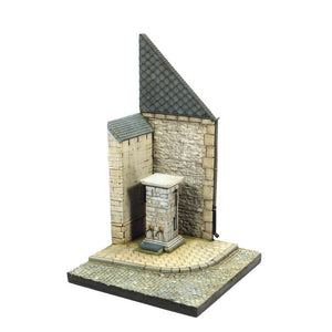 Vallejo SC004 Street Corner with Waterpump Normandy Scenic Base
