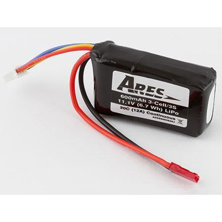 Image of ARES 600mAh 3 Cell 11.1V 20C LiPo