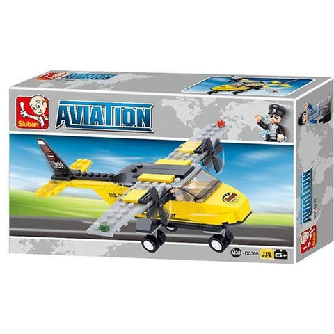 SLUBAN Aviation T Trainer 110pcs