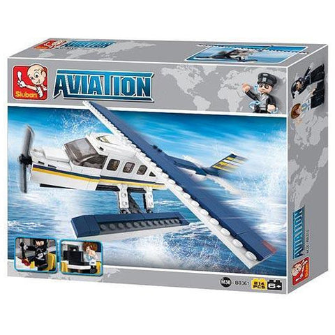 SLUBAN Aviation Z Seaplane 214pcs