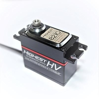 HIGHEST B210 Torque (0.09s/31.1kg/7.4V) Brushless Servo