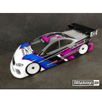 BITTYDESIGN JP8 1/10 TC Ultra Downforce body (BDTC-190JP8)