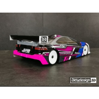 Image of BITTYDESIGN JP8 1/10 TC Ultra Downforce body (BDTC-190JP8)