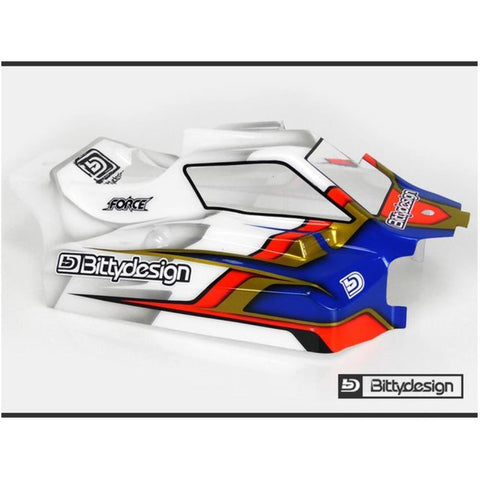 BITTYDESIGN Force Clear body for AE RC8B3